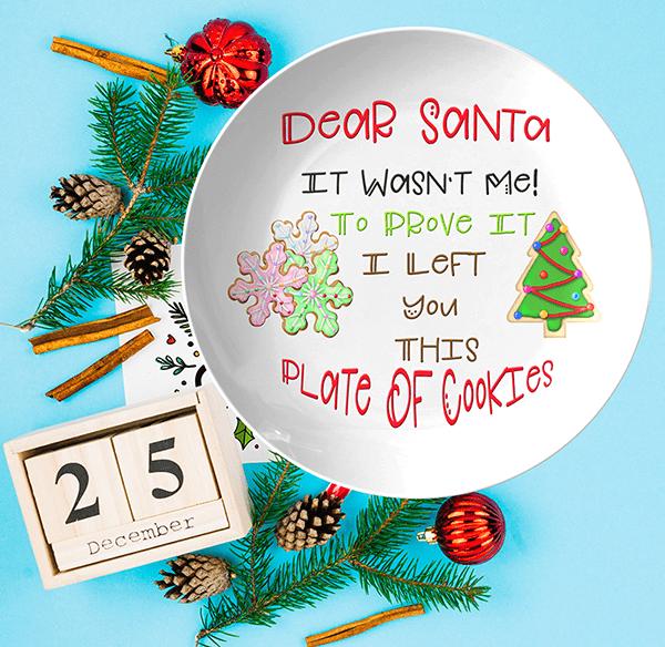 Dear Santa, It Wasn't Me!