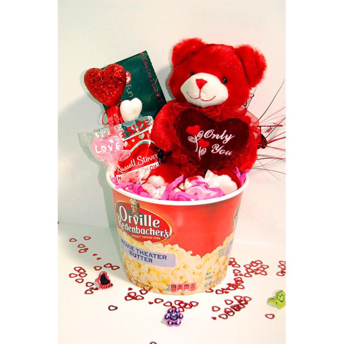You Make My Heart Go Pop - Valentines Day Gift Basket