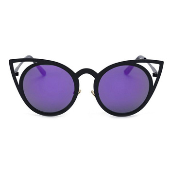 How cute are these purple cat's eye sunglasses!