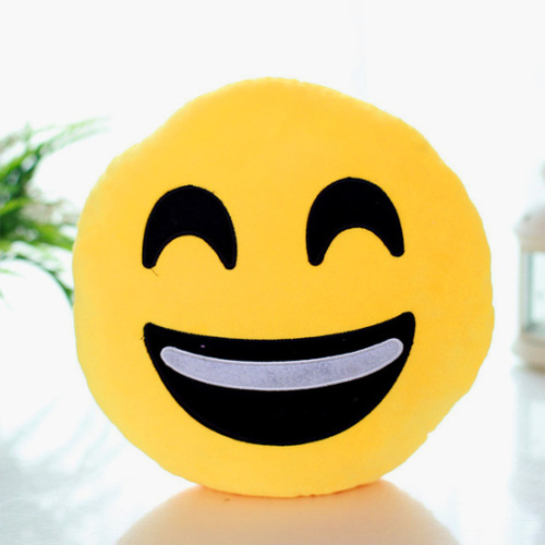 Choose from 18 different emoji face pillows