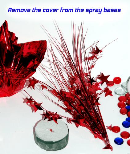 DIY Patriotic Centerpiece - Step 2 | Creative Home Decor