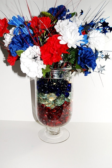 DIY Patriotic Centerpiece | Creative Home Decor | Patriotic Home Decor