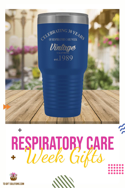 Vintage Respiratory Therapist 30 oz Tumbler