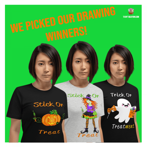 RT n RN Halloween T Shirt Winners